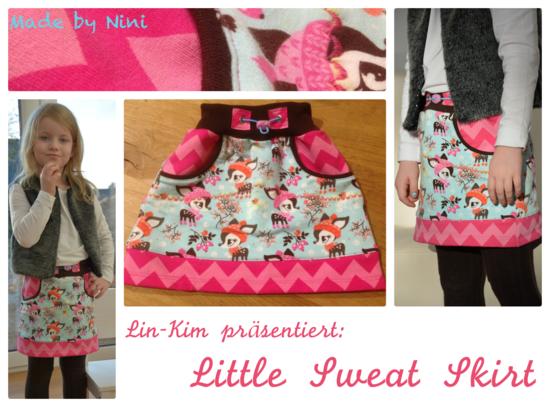 Foto zu Schnittmuster Little Sweat Skirt von Lin-Kim