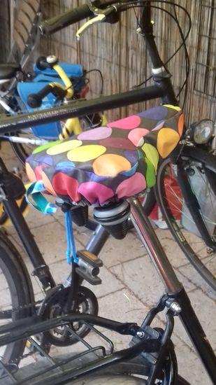 Foto zu Schnittmuster Fahrradsattelbezug von Hamburger Liebe