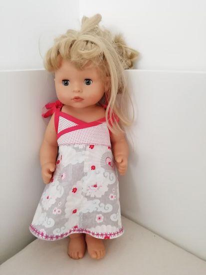 Produktfoto für Schnittmuster Carlotta (für Puppen) von Mamu Design