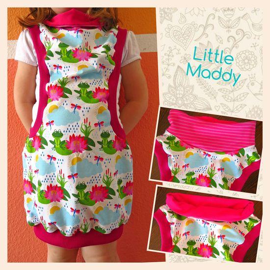 Produktfoto für Schnittmuster Abenteuerkleid Little Maddy von Abenteuermädchen