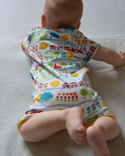 Produktfoto für Schnittmuster Babyanzug Anton von klimperklein