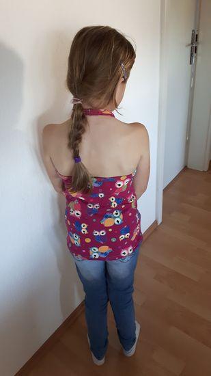 Produktfoto für Schnittmuster Mädchentop Jasmin von JaJuMi-Handmade