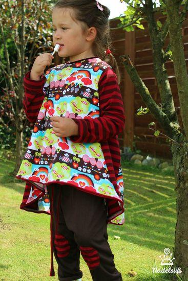 Foto zu Schnittmuster ShirtyLu Girl von BirdyLu