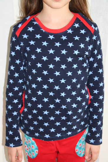 Foto zu Schnittmuster Lillesol basics No. 34 Shirt mit amerikanischem Ausschnitt von Lillesol & Pelle