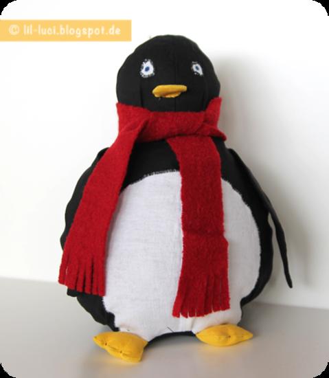 Foto zu Schnittmuster Pelli Pinguin von binenstich