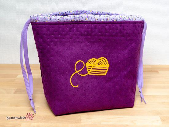 Produktfoto für Schnittmuster Projekttasche Abies von Fabelwald