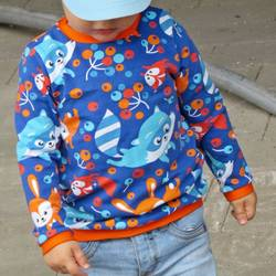 Foto zu Schnittmuster Slinky Shirt von Leuchtkids