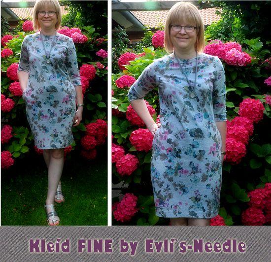Foto zu Schnittmuster Kleid Fine von EvLi's Needle