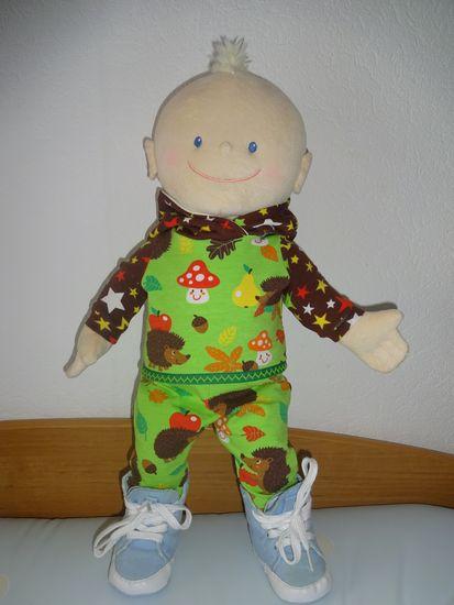 Foto zu Schnittmuster Puppenhose Krümel von Mamahoch2