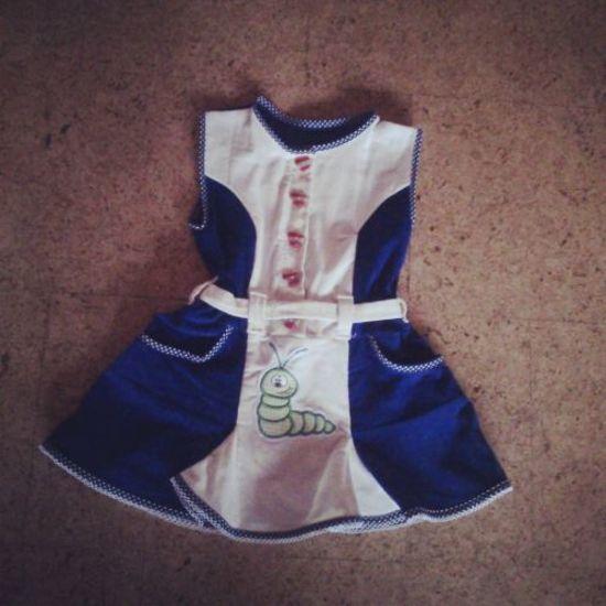Foto zu Schnittmuster Uniformkleid Gabriella von Bunte Nadel