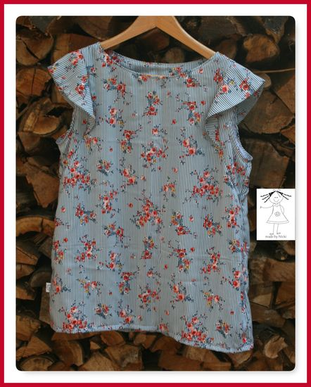 Produktfoto für Schnittmuster Kleid/Bluse Frau Smilla von Hedi