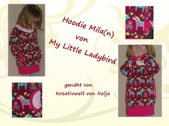 Foto zu Schnittmuster Hoodie Mila(n) von My Little Ladybird