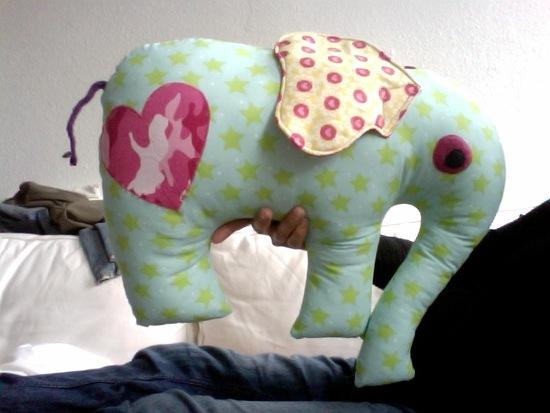 Kostenloses Schnittmuster Elefantös von schnittreif