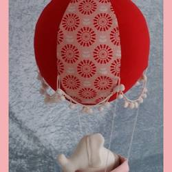 Kinderzimmerdeko  hei%c3%9fluftballon lina  rand