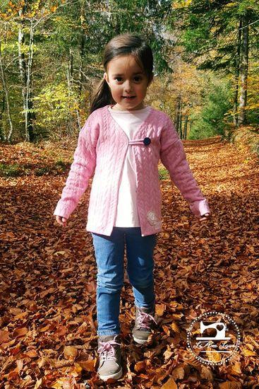 Foto zu Schnittmuster Cardigan #Penelope Kids von Laneli