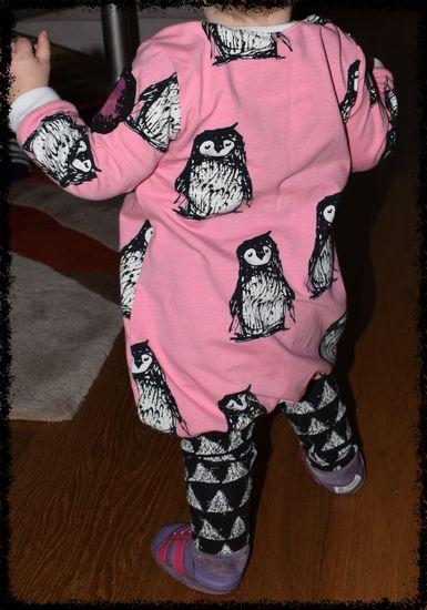 Foto zu Schnittmuster Babyballonkleid Wirbelkind von lila wie liebe