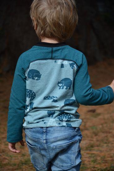 Produktfoto für Schnittmuster Raglan-Longsleeve Smart-Shirt von Muhküfchen Design