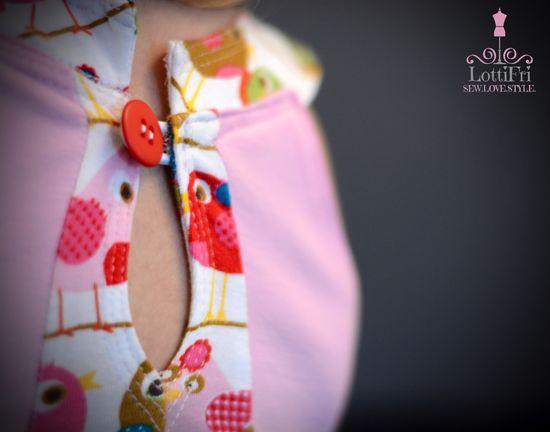 Produktfoto für Schnittmuster Leylin von Karlotta-Klamotta