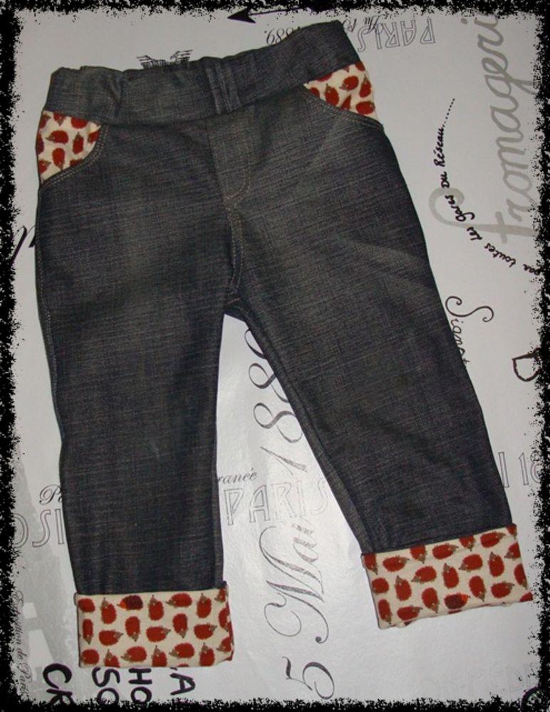 Foto zu Schnittmuster Mottis Jeans regular von Made for Motti