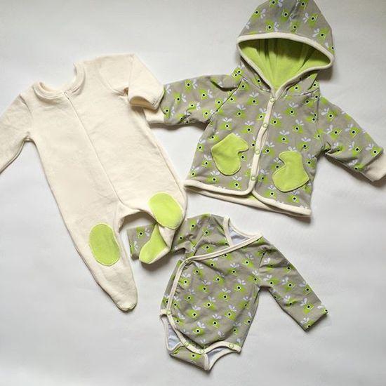 Schnittmuster #3 Bunny von Ottobre Design als Papierschnitt für Babies in Kategorie Sonstiges (50–86)