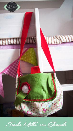 Produktfoto für Schnittmuster Kindergarten-Tasche Milla von shesmile