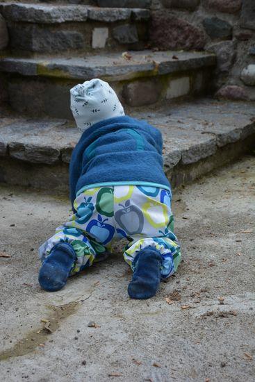 Kostenloses Schnittmuster Softshellhose Poseidon von heidimade als e-book für Babies, Jungen, Mädchen in Kategorie Hose (74–152)
