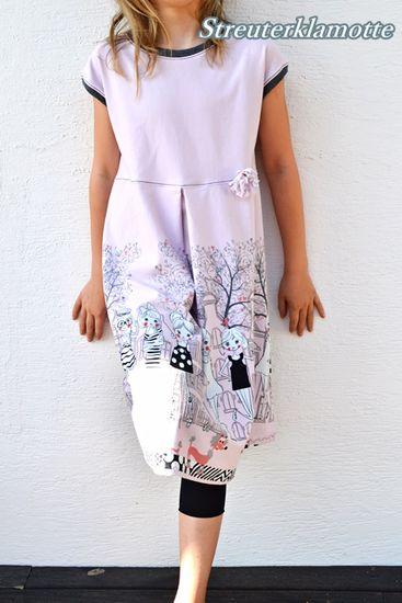 Produktfoto für Schnittmuster Annelie von Mademoiselle Pfingstspatz