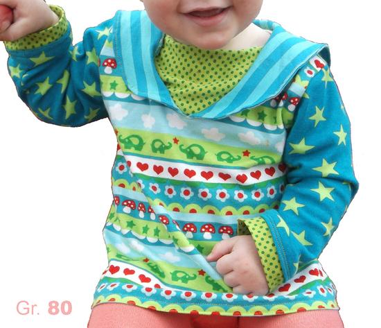 Foto zu Schnittmuster Matrosenkragen-Shirt Ahoioioi von Muhküfchen Design