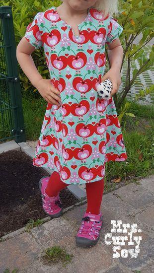 Produktfoto für Schnittmuster geteilt-durch-Kleid (& Tunika) von Erbsenprinzessin