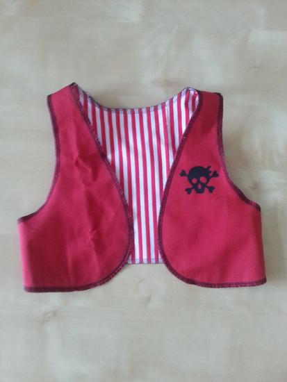 Produktfoto für Schnittmuster Kinderweste von pattydoo