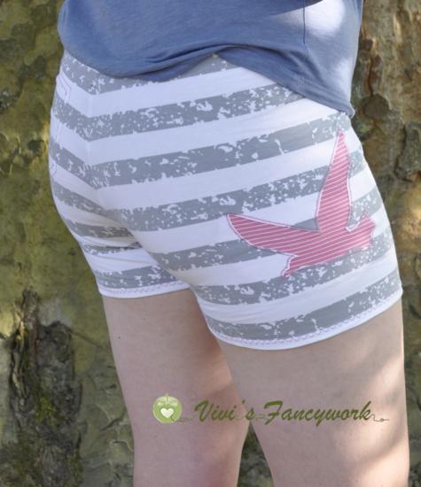 Foto zu Schnittmuster Hot Pants von Print4Kids