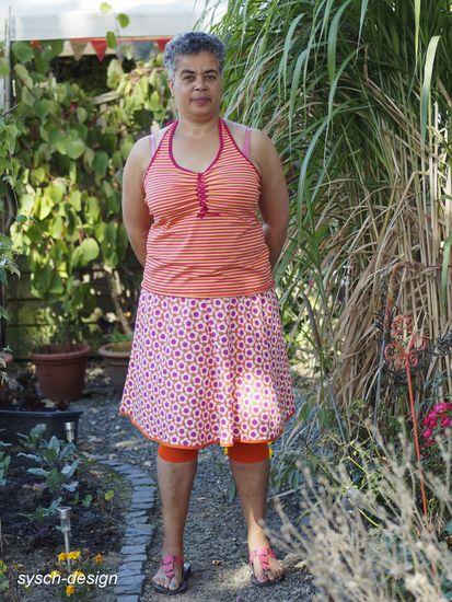 Schnittmuster Ellis Dress von muckelie als e-book, DIN A0-Datei für Damen in Kategorie Kleid