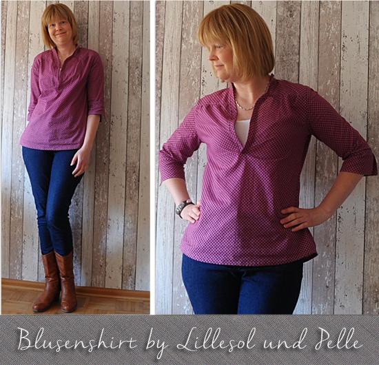 Produktfoto für Schnittmuster Lillesol women No.6 Blusenshirt Webware von Lillesol & Pelle