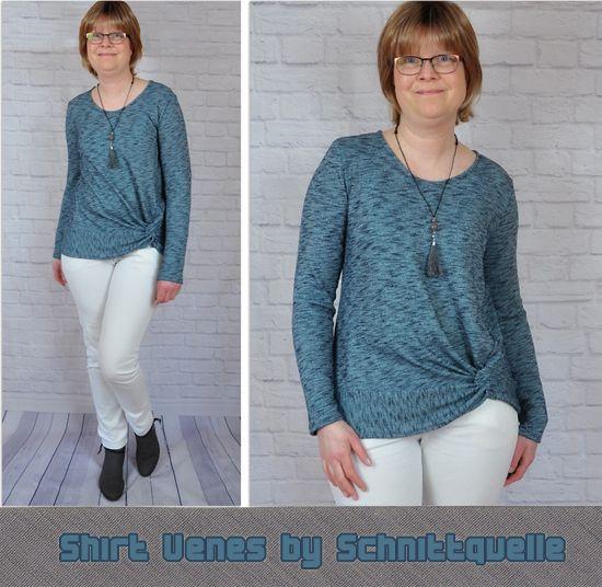 Foto zu Schnittmuster Shirt Venes von Schnittquelle