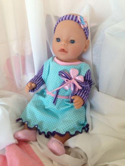 Foto zu Schnittmuster Arwen in Puppengröße von Ruellis Welt