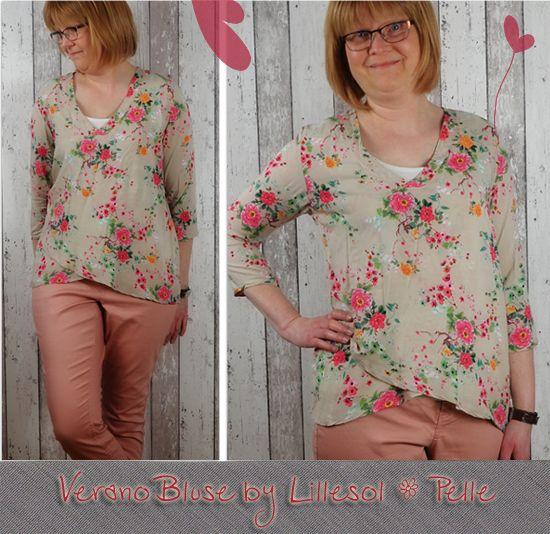Produktfoto für Schnittmuster Lillesol women No.17 Verano-Bluse von Lillesol & Pelle