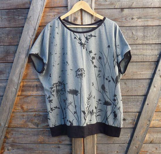Produktfoto für Schnittmuster Fledermausshirt Pinia von Firlefanz