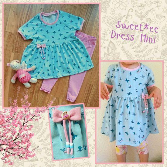 Produktfoto für Schnittmuster Sweet*ee Dress Mini von NipNaps