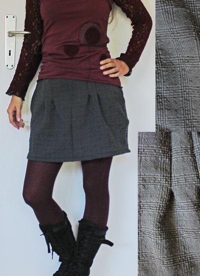 Produktfoto für Schnittmuster Chino-Minirock Damen von PRACHTKINDER