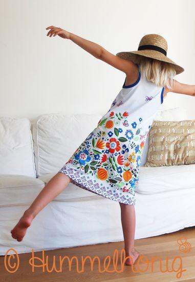 Foto zu Schnittmuster Giraffe - Tanktop Kleid von Hummelhonig