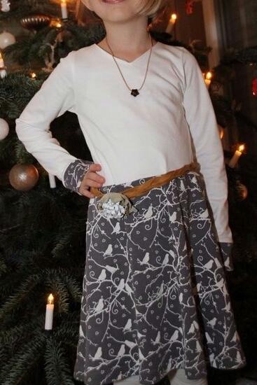 Foto zu Schnittmuster Basic Winterkleid von ki-ba-doo