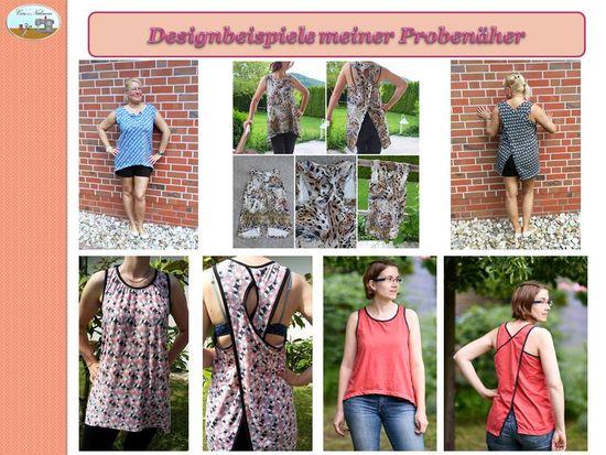 Produktfoto für Schnittmuster Easy Cross Top von Caro's Nähseum