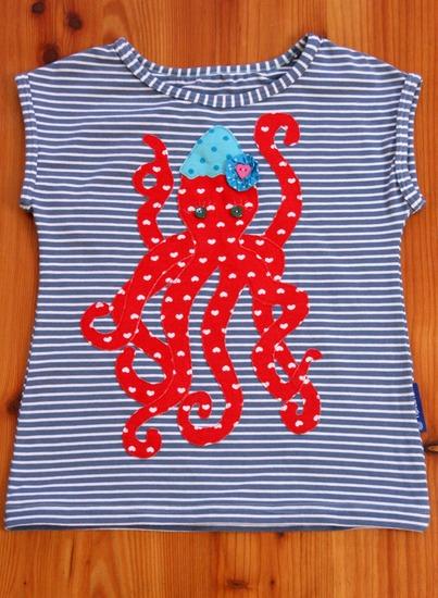 Schnittmuster #28 Neon Stripes von Ottobre Design als Papierschnitt für Mädchen in Kategorie Oberteil (110–146)