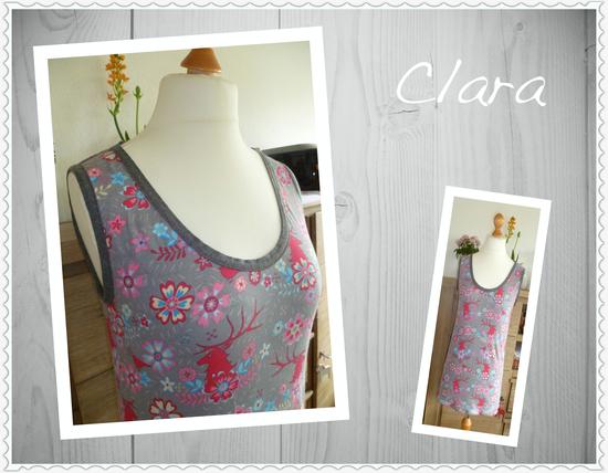 Produktfoto für Schnittmuster Sommertop Clara von drei eMs
