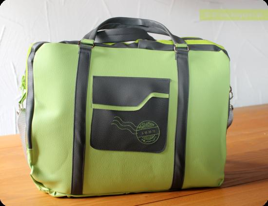 Produktfoto für Schnittmuster Notebooktasche von Frau Scheiner