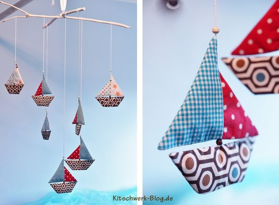 Foto zu Schnittmuster Mobile Eddy's Flotte von Kitschwerk
