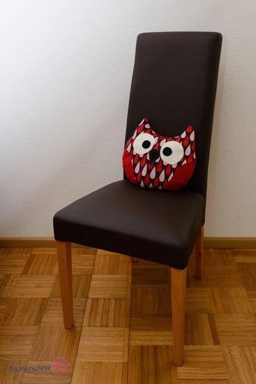 Produktfoto für Schnittmuster Eulenkissen Berta von shesmile