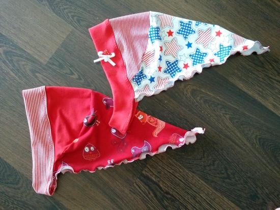 Kostenloses Schnittmuster Kopftuch Prinzessin Aleyna von Leyona