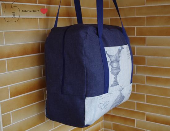Schnittmuster Reisetasche XXL von Farbenmix als e-book in Kategorie Taschen