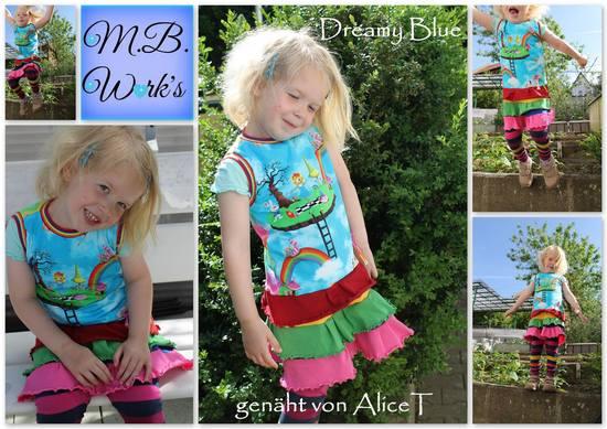 Produktfoto für Schnittmuster Dreamy Blue von M.B.Work's